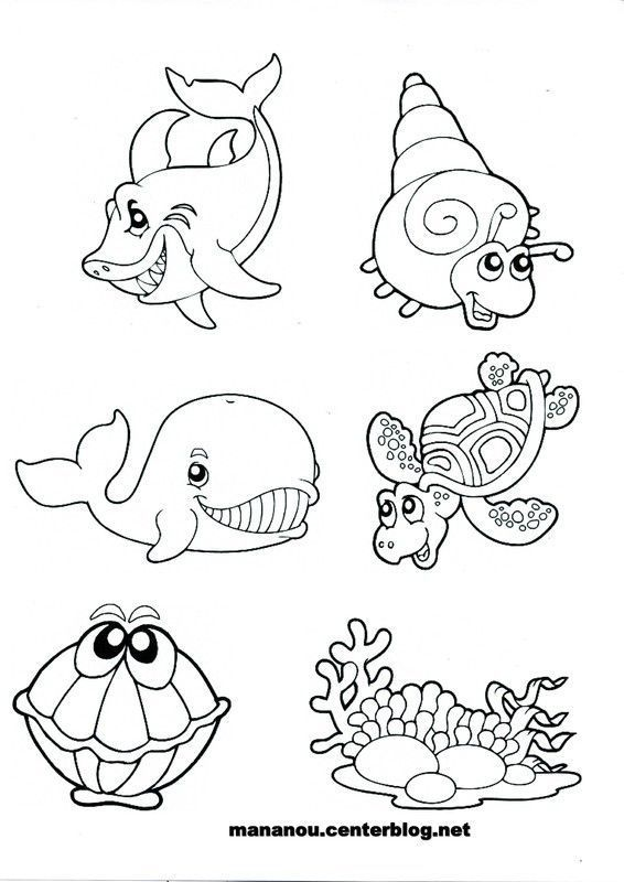 Aquarium des petits loups for Aquarium poisson rouge dessin