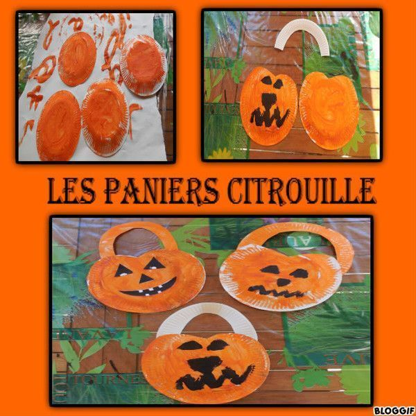 Activites et coloriage halloween page 5 Bricolage maternelle halloween
